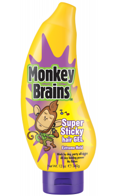 Monkey Brains haargel, Super Sticky hair gel