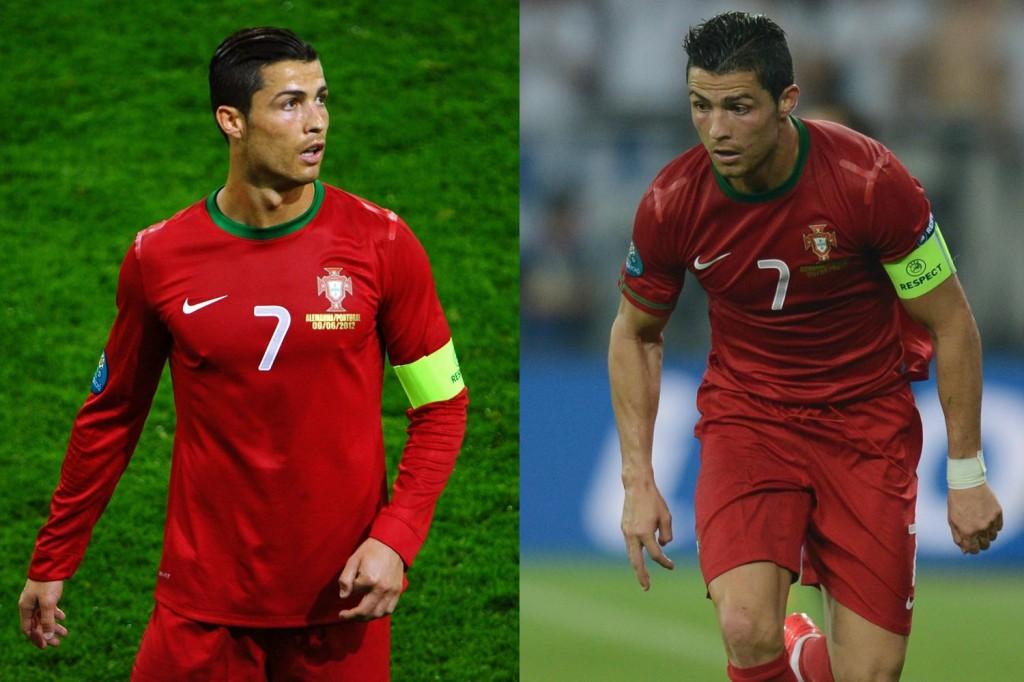 Haar Cristiano Ronaldo, EK 2012